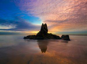 newport beach, california, sunset
