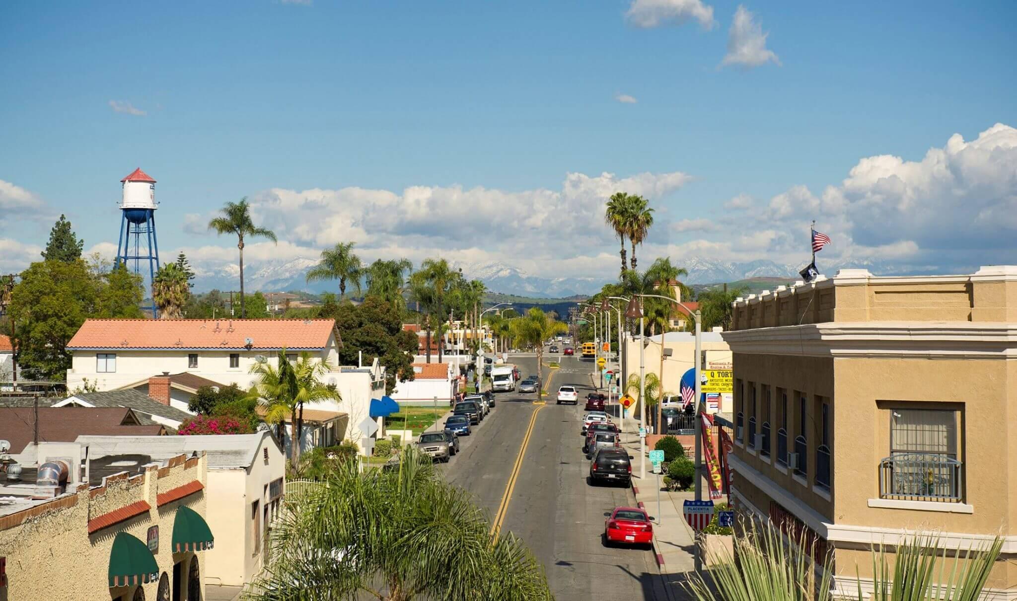 Old Town Placentia California