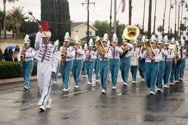 A Band Marches in the Placentia Heritage Festival